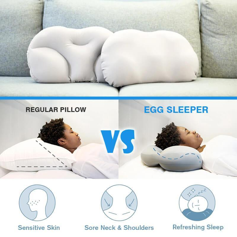 Sleeping without a pillow, sleep without a pillow